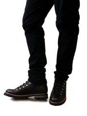 サイドジップマウンテンブーツLブラック黒black新品※2点送料無料
