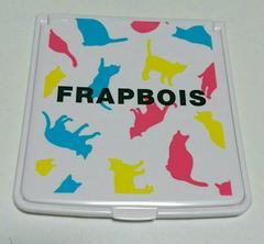 FRAPBOIS 折りたたみミラー フラボア 猫柄 ネコ ねこ