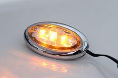 ★おしゃれ!★汎用・高輝度・LEDサイドマーカー type6