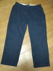 ラルフローレン 紺パンツ 40 大きいサイズ