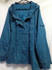5L 大きいサイズ*ブルー系ジャケット