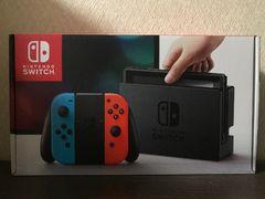 ニンテンドースイッチ Nintendo Switch 本体 ネオンレッド ネオンブルー 新品即決