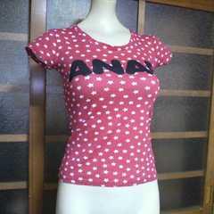 ANAP/アナップ星柄 Tシャツ