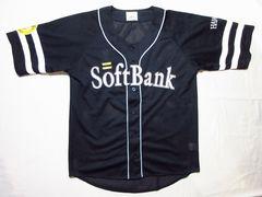 Soft Bank HAWKS ソフトバンクホークス ユニフォーム ブラック