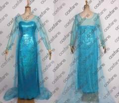 1229アナと雪の女王 エルサ ドレス コスプレ衣装激安・人気