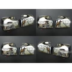 エブリー DA64WDA64V JB23ジムニー LEDウインカードアミラー メッキ