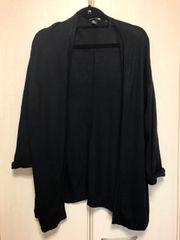 H&M長袖カーディガン黒M★FOREVER21 ZARA系