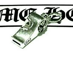 †chrome hearts☆CHクロス タイニーホイッスルチャーム☆レア†
