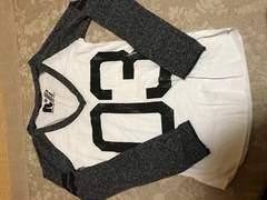 ベースボールTシャツ☆ラグラン黒系