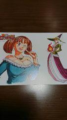 七つの大罪 イラストカード マーリン&ディアンヌ