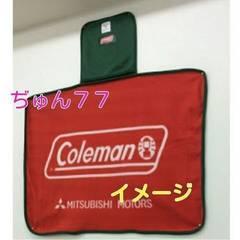 新品★激レア♪三菱自動車×Colemanコラボ非売品2wayブランケット/コールマン