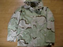 アメリカ軍 ECWCS ゴアテックスパーカー デザートカモ M