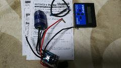 ヨコモセンサー付きブラシレスアンプセット