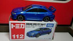 ★赤箱トミカ112★スバル WRX STI Type S★
