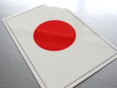1□日本国旗ステッカー☆1枚即買☆日章旗日の丸