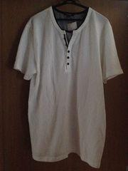 新品 大きいサイズ メンズ 4L 半袖 Tシャツ ホワイト系 送料無料
