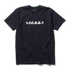 F.C.R.B. x mastermind JAPAN マスターマインドTシャツ黒M新品