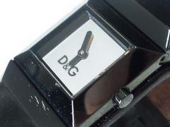 3062/DGドルチェ&ガッバーナフルブラックブレスレット型腕時計破壊価格にて