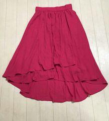 INGNI☆ラップイレヘムスカート♪ピンク