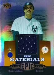 UPPER-DECK.2006 レジー.ジャクソン・GAME-USEDジャージカード  /52  ヤンキース
