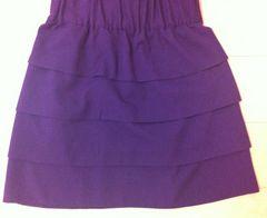 紫スカート