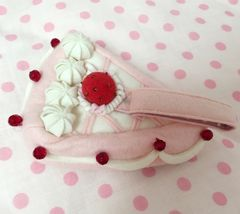 シャーリーテンプル*ショートケーキ型ポーチ*ピンク 美品