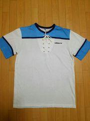 デットストック adidas 丸首 Tシャツ 未使用