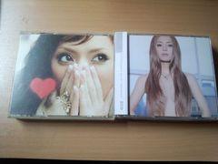 浜崎あゆみCD+DVDアルバム2枚セット「LOVEppears missunderstood