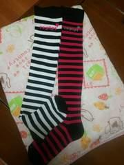 ピンク&黒    白&黒