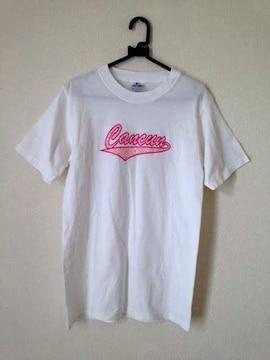 YAZBEK◆ホワイト ハワイアンプリント コットン Tシャツ Sサイズ