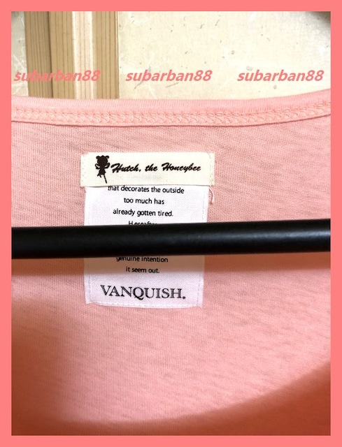 ヴァンキッシュ☆超美品♪ミツバチハッチ裾フリルチュニックT < ブランドの
