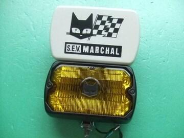 新品 マーシャル 750 白カバー付きライト 旧車 フォグランプ1
