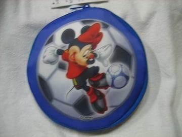 ディズニー たためる丸型保冷バッグ ミニーマウス キリン