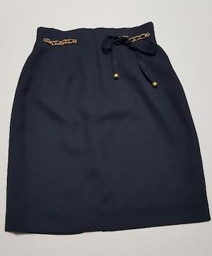 濃紺★可愛いタイトスカート★ウエスト63cm