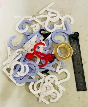 梱包材ミニハンガーマグネット両面テープ詰め合わせ