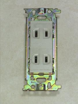 ナショナル 松下電工 コンセント WN1302