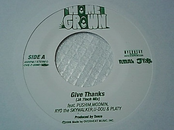 RYO the SKYWALKER&プシンPUSHIM,MOOMIN他「Give Thanks」