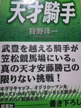 絶版【天才騎手】安藤勝己・競馬アンカツ