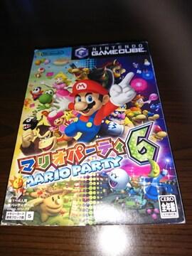 任天堂ゲームキューブ!箱あり!マリオパーティ6!ソフト!