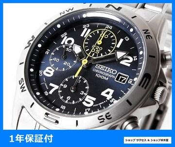 新品 即買い■セイコー SEIKO クロノグラフ 腕時計 SND379