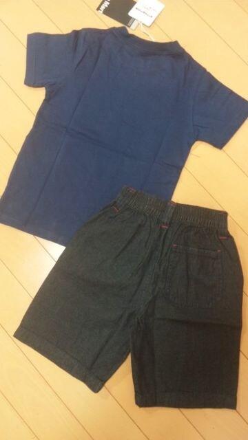 新品上下セットドクロスカルTシャツ&ハーフパンツ130 < キッズ/ベビーの