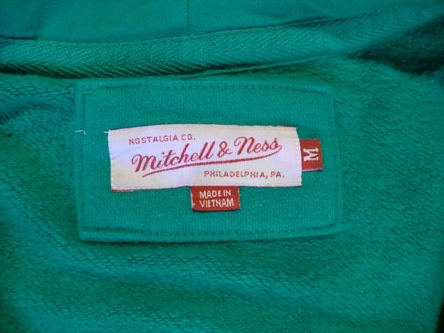 ミッチェル&ネス ジップパーカー USA-M 新品 < 男性ファッションの