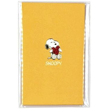 【スヌーピー】可愛いお年玉.手紙!ゴールド箔押しシール付ポチ袋4枚セット