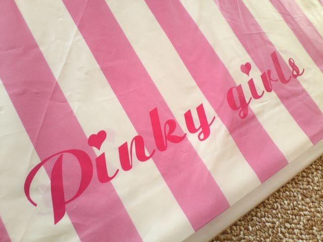 Pinky girls ピンキーガールズ  レアなショップ袋 < ブランドの