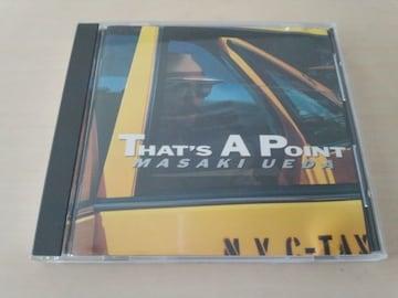 上田正樹CD「THAT'S A POINT」●