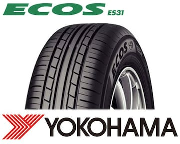 ★165/65R13 緊急入荷★ヨコハマ ECOS ES31 新品タイヤ 4本セット