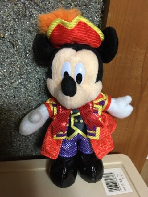 ☆TDS☆ミッキー☆ぬいぐるみバッジ☆35周年☆ハロウィン☆  < おもちゃの