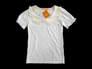 新品 定価3800円 fint 襟付き Tシャツ カットソー ブラウティー