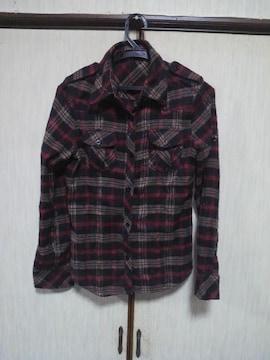 チェックシャツフリーネルシャツ