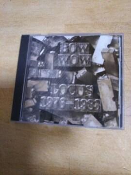 ★送料無料 [CD]  BOW WOW LOCUS 1976−1983 バウワウ ベストセレクション